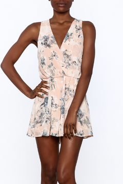 Final Touch Print Floral Print Romper - Product List Image