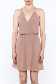 Final Touch Solid Color Dress - Front full body