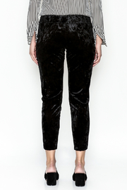 Final Touch Velvet Pants - Back cropped