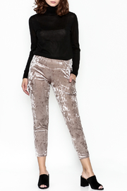 Final Touch Velvet Pants - Side cropped