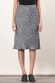Final Touch Animal Satin Skirt - Front cropped