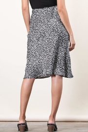 Final Touch Animal Satin Skirt - Side cropped