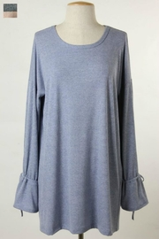 Final Touch Bell Sleeve Tunic - Front cropped