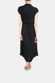 Final Touch Button Down Maxi Dress - Back cropped
