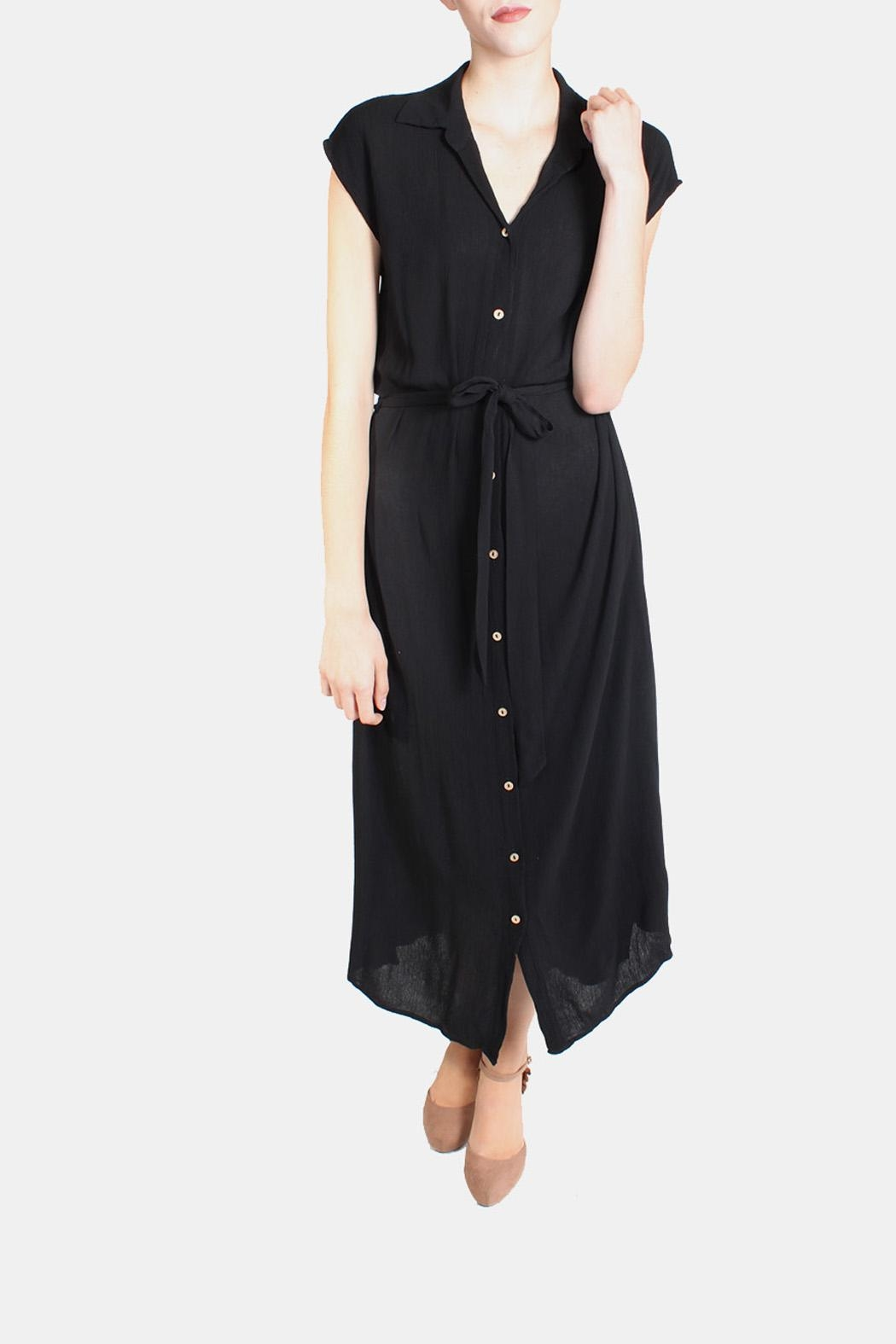 Final Touch Button Down Maxi Dress - Main Image