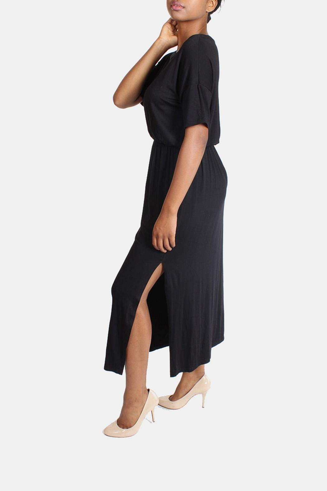 Final Touch Ultra Soft Maxi Dress - Side Cropped Image