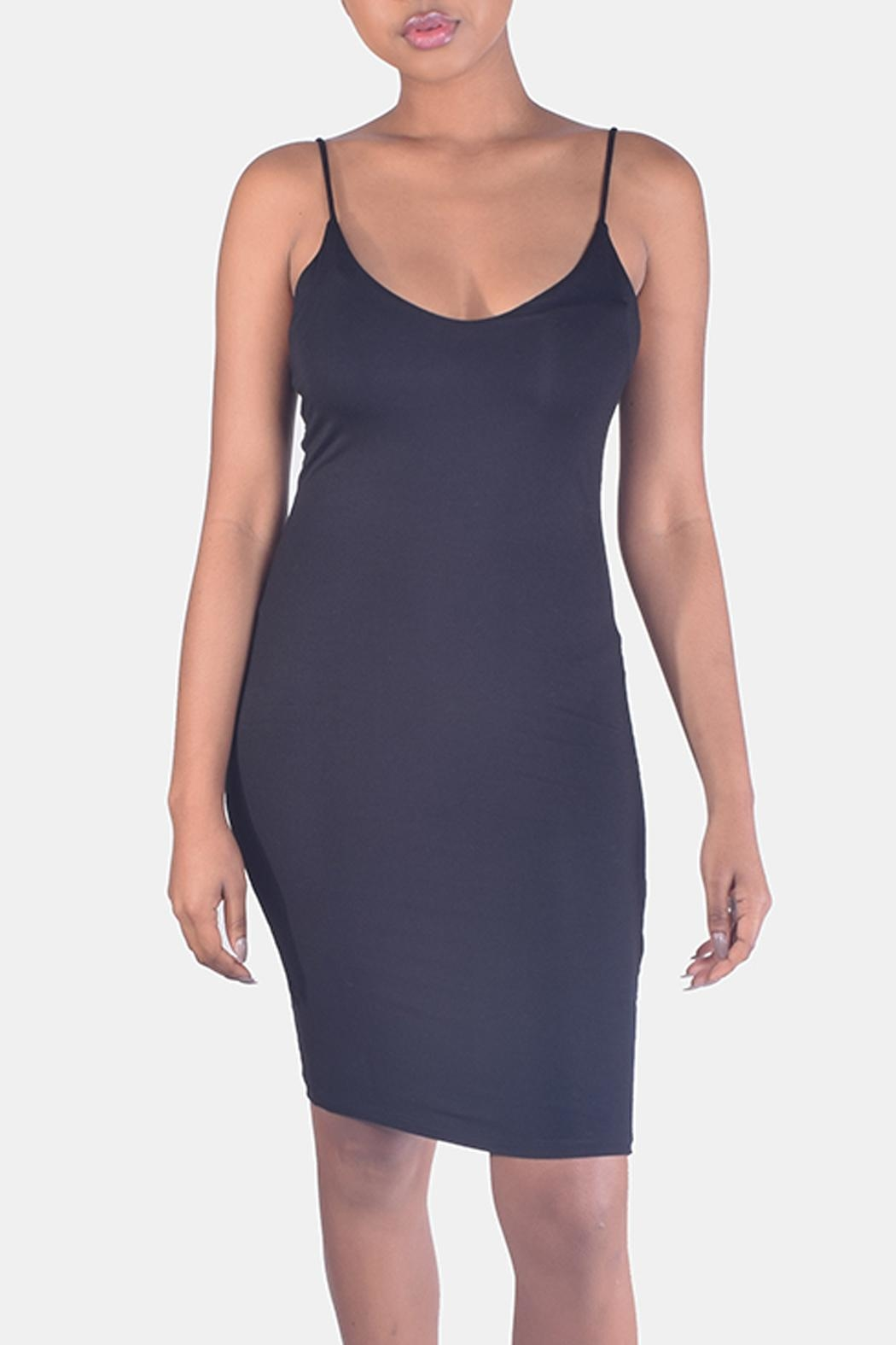 Final Touch Bodycon Cami Dress - Main Image