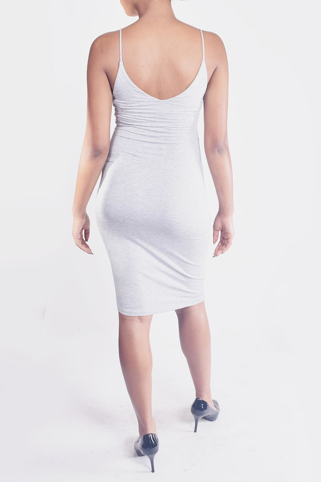 Final Touch Bodycon Cami Dress - Back Cropped Image