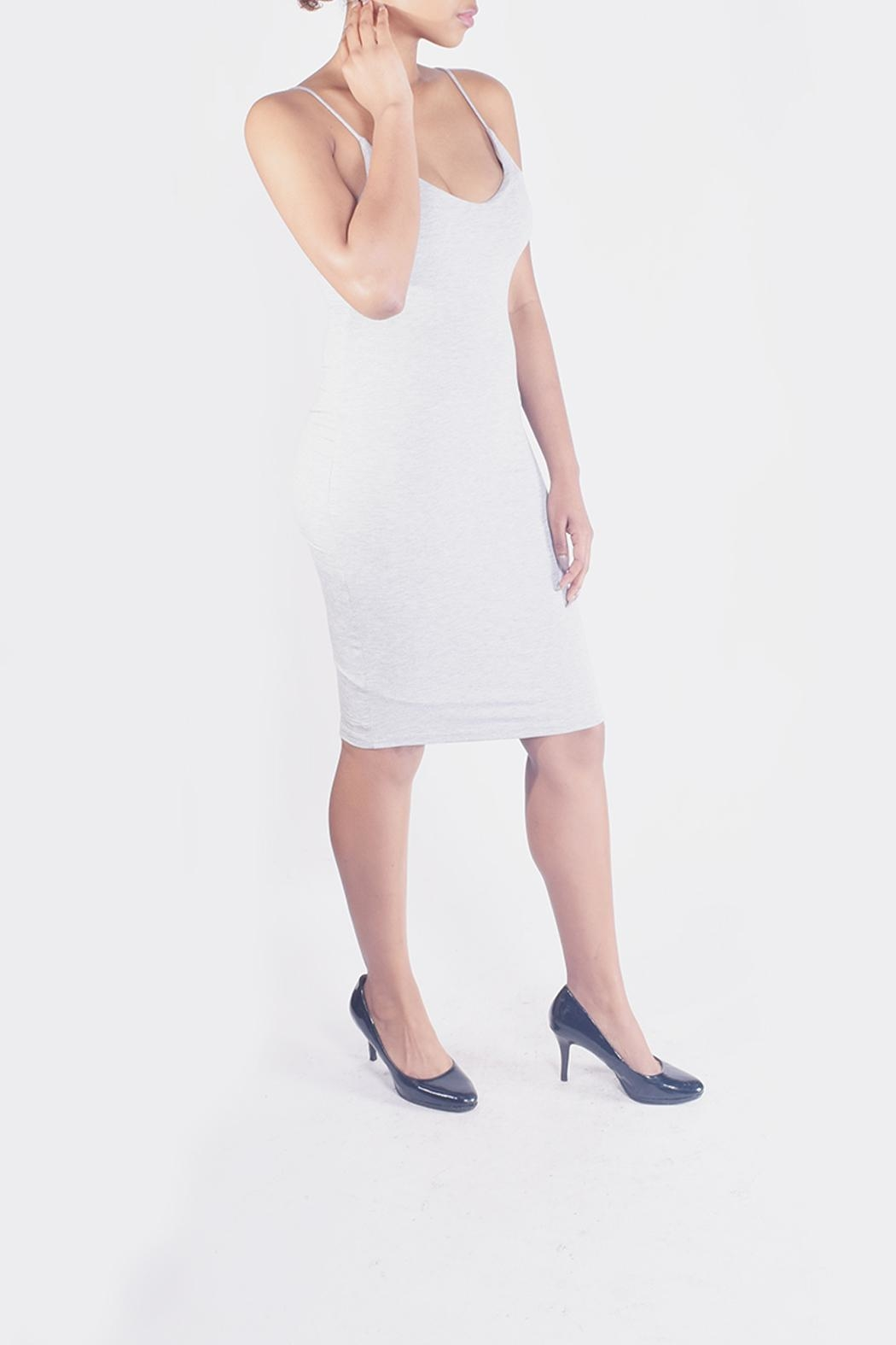 Final Touch Bodycon Cami Dress - Side Cropped Image