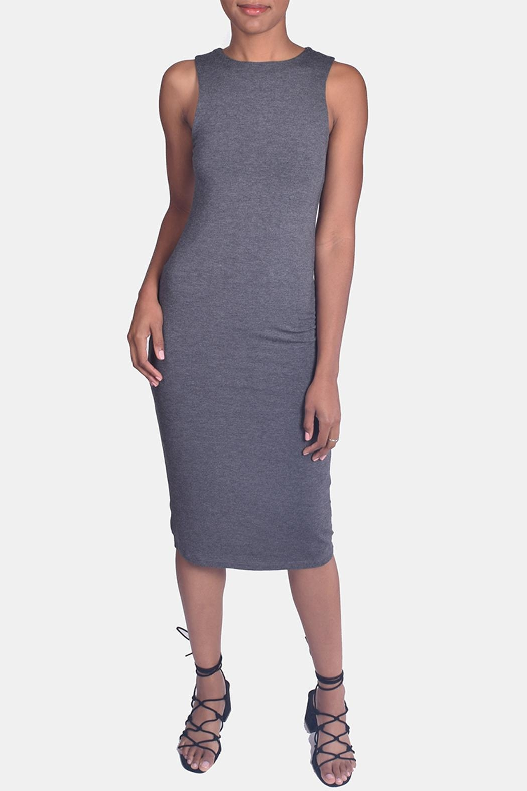 Final Touch Bombshell Bodycon Dress - Side Cropped Image