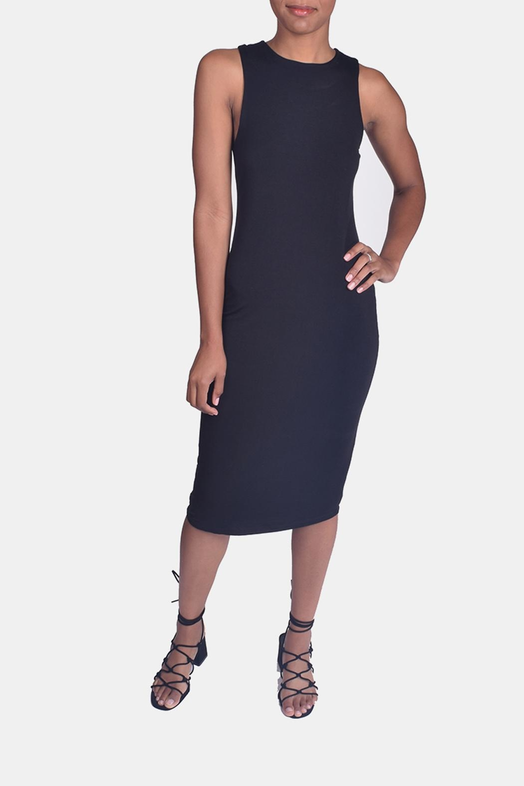 Final Touch Bombshell Bodycon Dress - Front Full Image