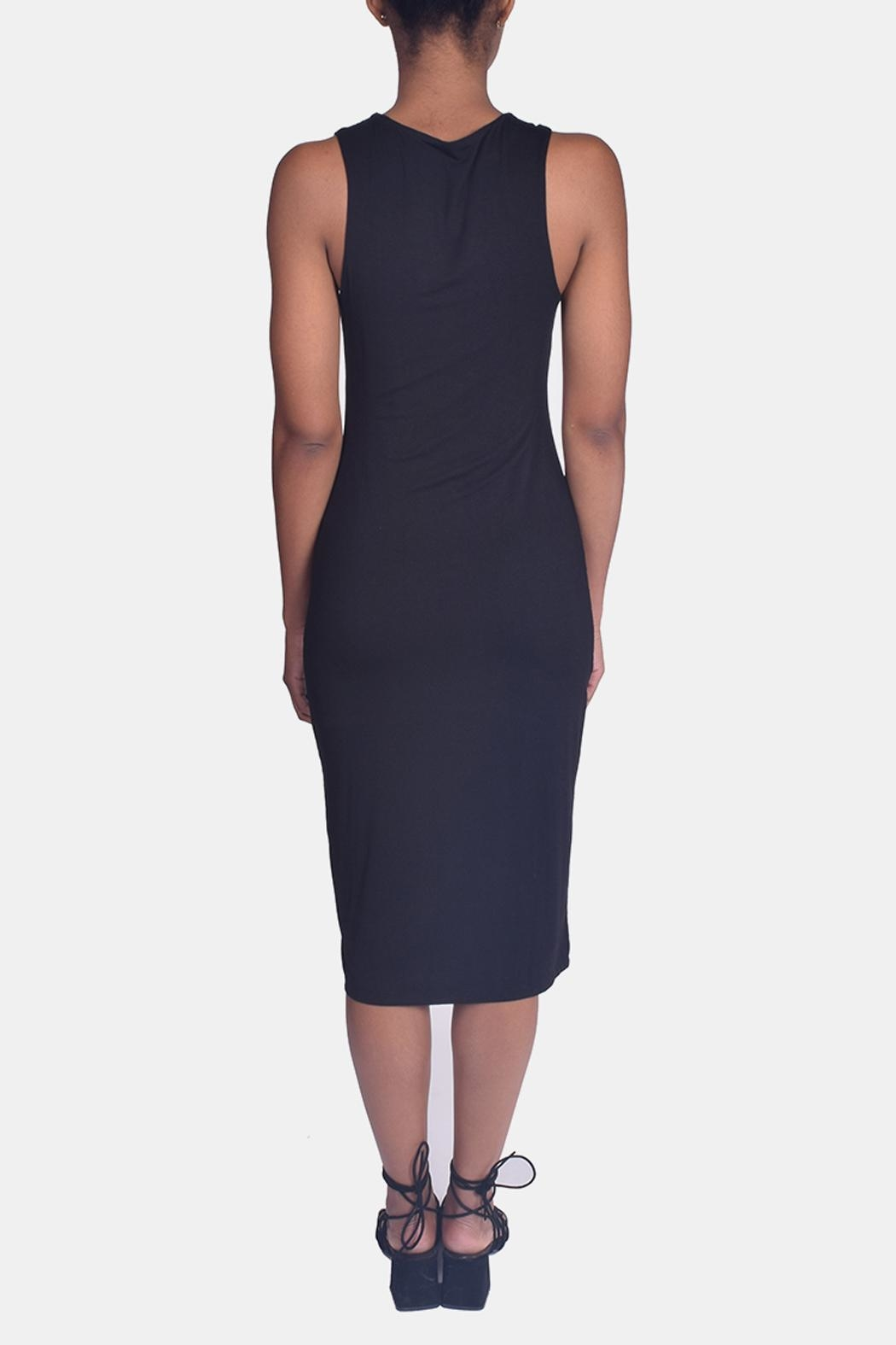 Final Touch Bombshell Bodycon Dress - Back Cropped Image