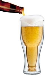Final Touch Bottonsup Beer Glass - Product Mini Image