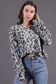 Final Touch Cheetah Pullover Top - Product Mini Image