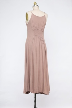 Final Touch Chelsea Button Front Dress In Sand - Alternate List Image