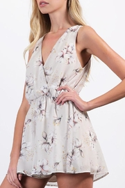 Final Touch Chiffon Floral Romper - Product Mini Image