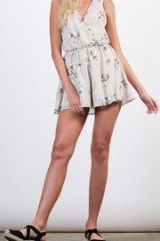 Final Touch Chiffon Printed Romper - Product Mini Image