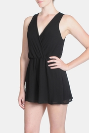 Final Touch Chiffon Wrap Mini-Romper - Product Mini Image