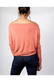 Final Touch Coral Long Sleeve - Back cropped