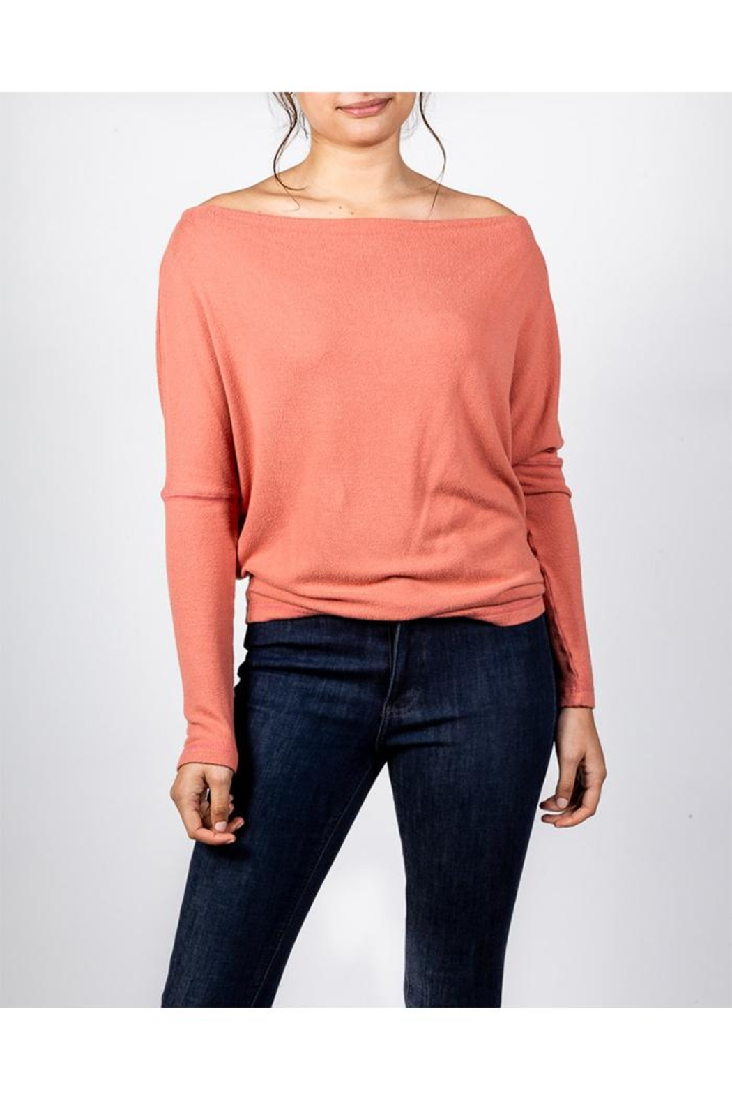 Final Touch Coral Long Sleeve - Front Full Image
