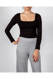 Final Touch Essential Square-Neck Top - Front cropped
