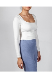 Final Touch Essential Square-Neck Top - Side cropped