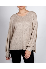 Final Touch Everyday Scoop-Neck Pullover - Product Mini Image
