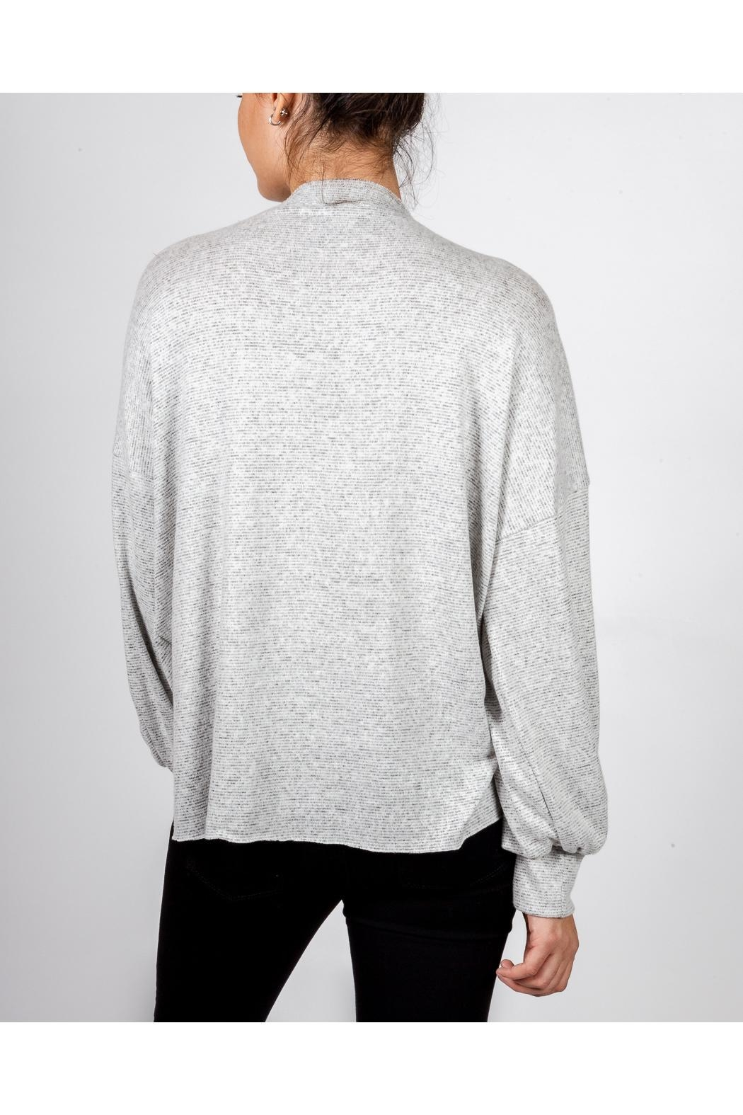 Final Touch Everyday Scoop-Neck Pullover - Side Cropped Image