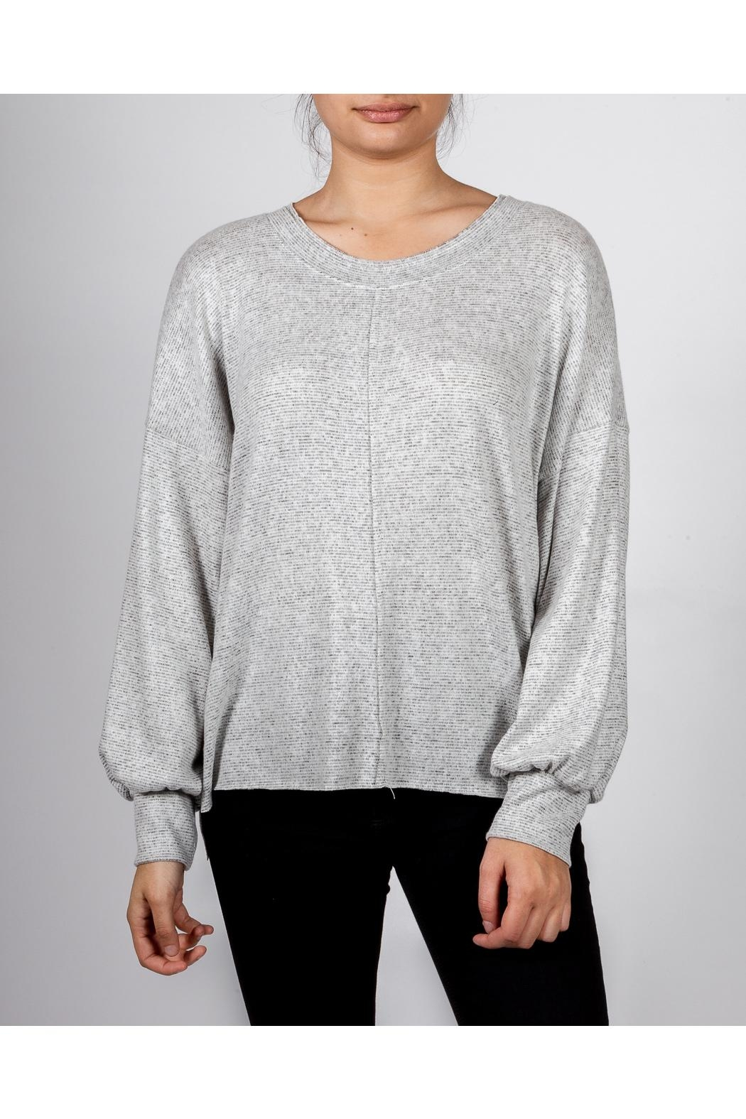 Final Touch Everyday Scoop-Neck Pullover - Front Cropped Image
