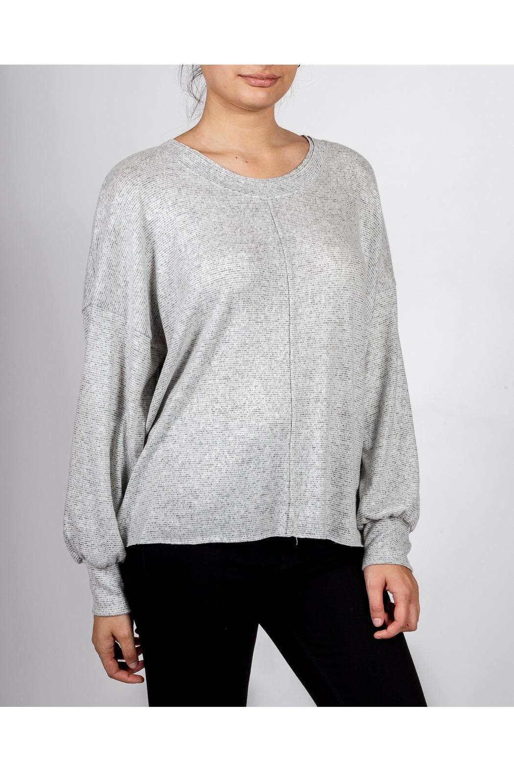 Final Touch Everyday Scoop-Neck Pullover - Front Full Image