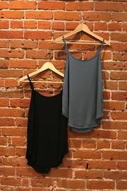 Final Touch Everyday Woven Tank - Front cropped