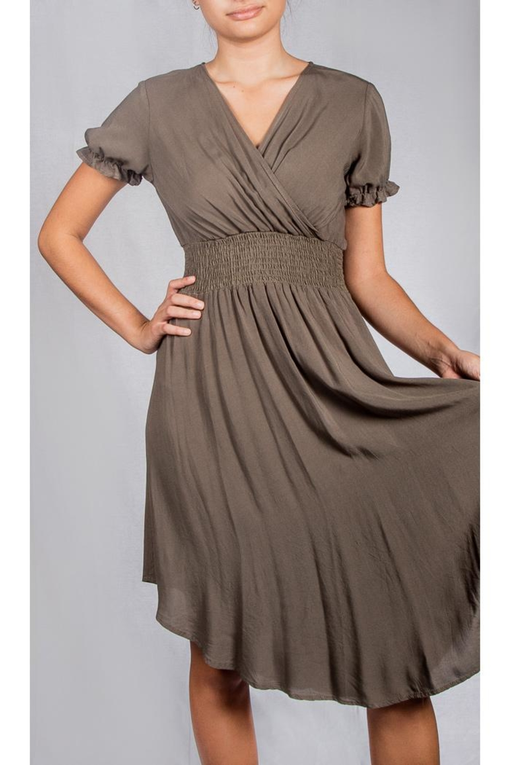 Final Touch Fall Flirty Dress - Front Full Image
