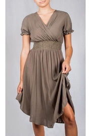 Final Touch Fall Flirty Dress - Front cropped