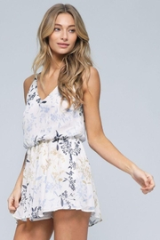 Final Touch Floral Print Romper - Product Mini Image