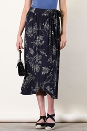 Final Touch Floral Wrap Skirt - Front cropped
