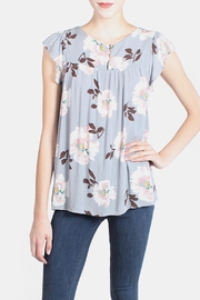 Final Touch Grey Floral Doll Blouse - Product Mini Image