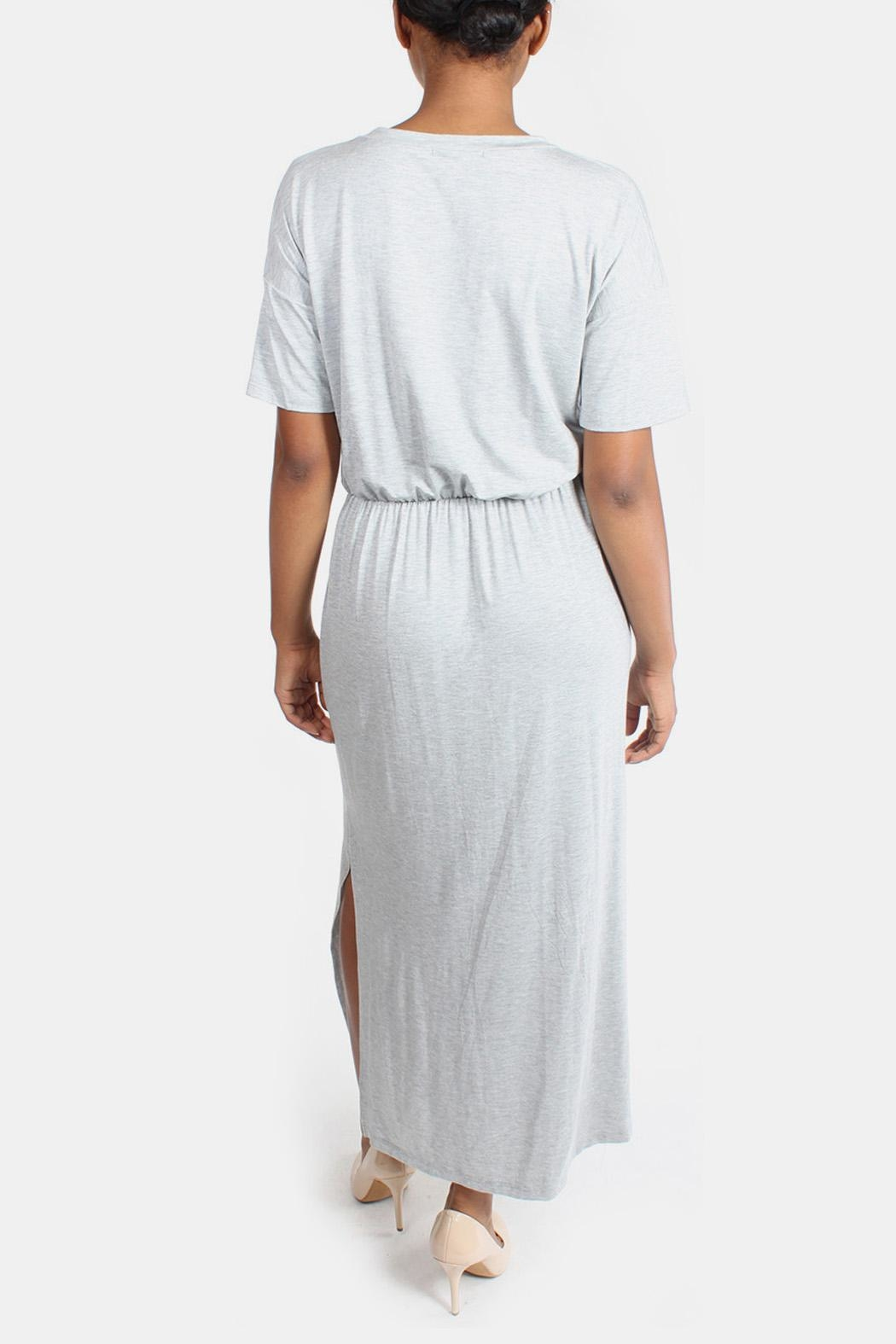 Final Touch Jersey Maxi Dress - Back Cropped Image