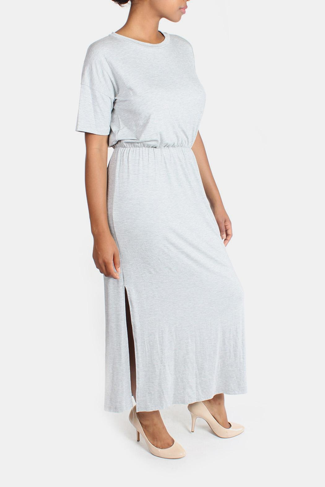 Final Touch Jersey Maxi Dress - Side Cropped Image