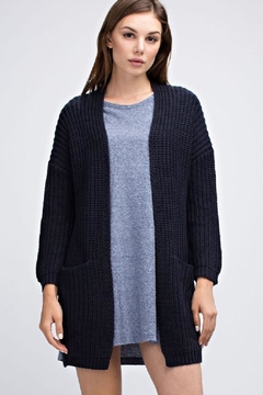 Shoptiques Product: Heavy Knit Cardigan