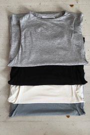 Final Touch High-Neck Crop Top - Front cropped
