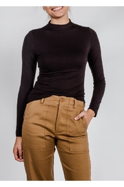 Final Touch High-Neck Double-Layer Top - Product Mini Image