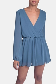 Final Touch Jade Chiffon Romper - Product Mini Image