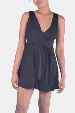 Final Touch Jersey Wrap Romper - Product List Image