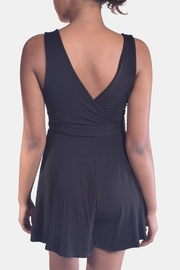 Final Touch Jersey Wrap Romper - Side cropped