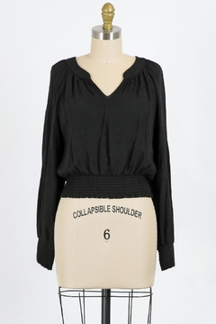 Final Touch Juliette Blouse In Black - Product List Image