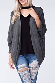 Final Touch Knit Cardigan - Front cropped