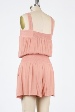 Final Touch Lakeside Gauze Romper (Available In Black, Petal Pink, Rose, And Natural) - Alternate List Image
