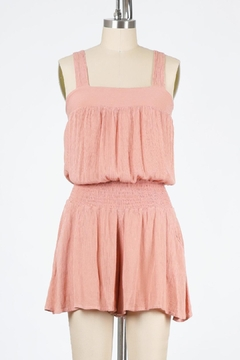 Final Touch Lakeside Gauze Romper (Available In Black, Petal Pink, Rose, And Natural) - Product List Image
