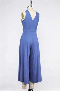 Final Touch Lapis Love Soft Stretch Cross Front Jumpsuit - Alternate List Image
