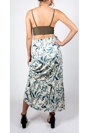 Final Touch Leafy Maxi Skirt - Side cropped